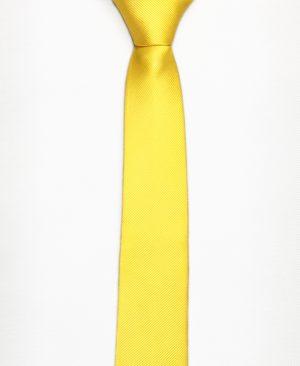 cà vạt vàng - lụa 100%