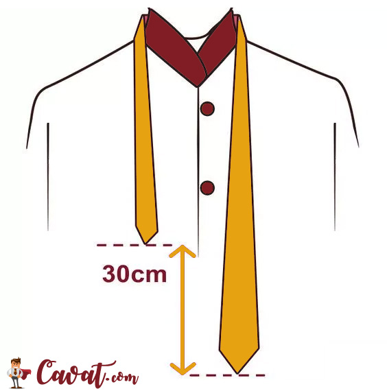 Cách thắt cà vạt - hình 1