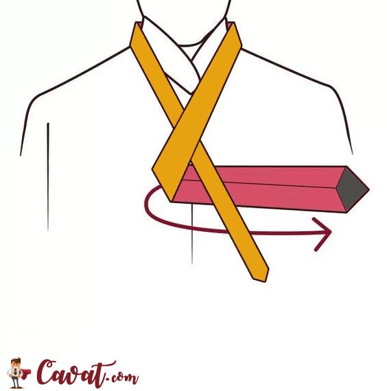 Cách thắt cà vạt - hình 3