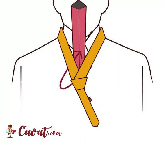 Cách thắt cà vạt - hình 5