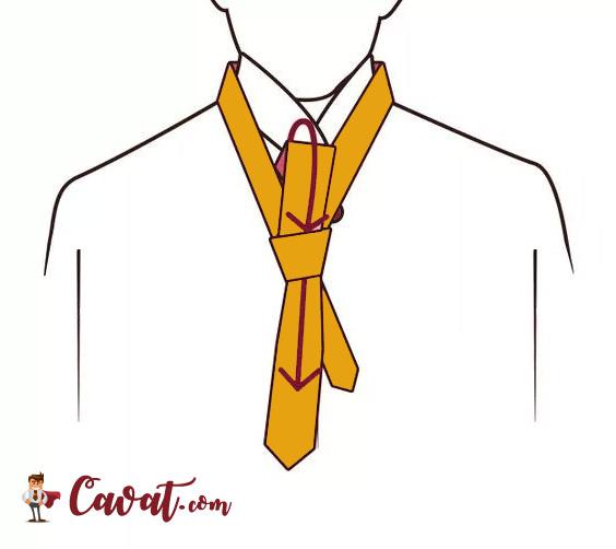 Cách thắt cà vạt - hình 6