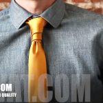 Cách thắt cà vạt kiểu Van Wijk thật sành điệu!